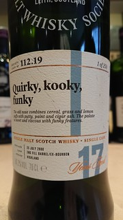 SMWS 112.19 - Quirky, kooky, funky