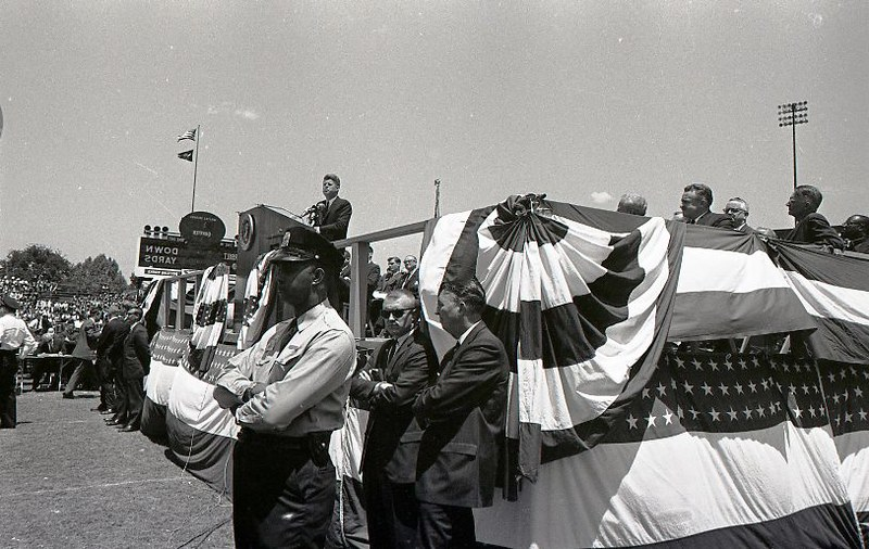JFK visits Nashville