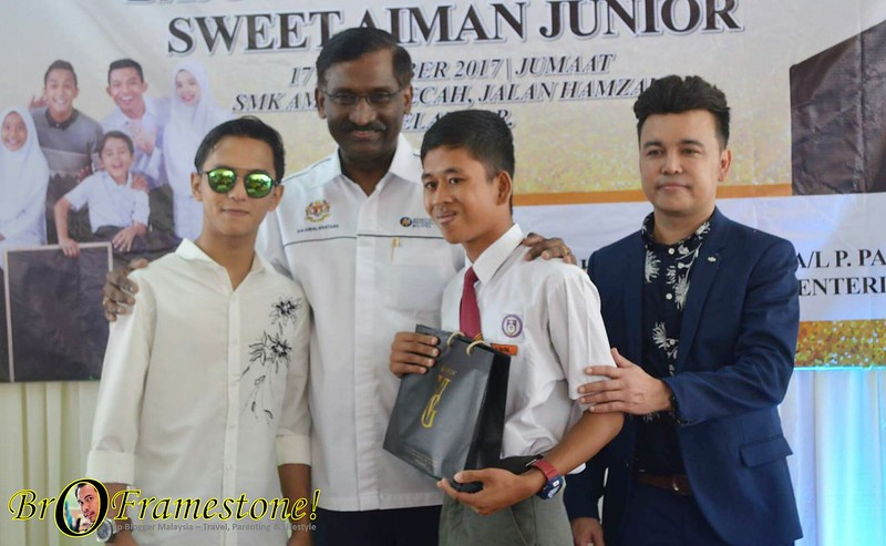 Sweet Aiman Junior Uniform Sekolah