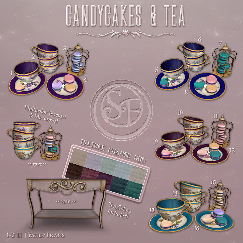 CandyCakes & Tea Gacha - TeleportHub.com Live!