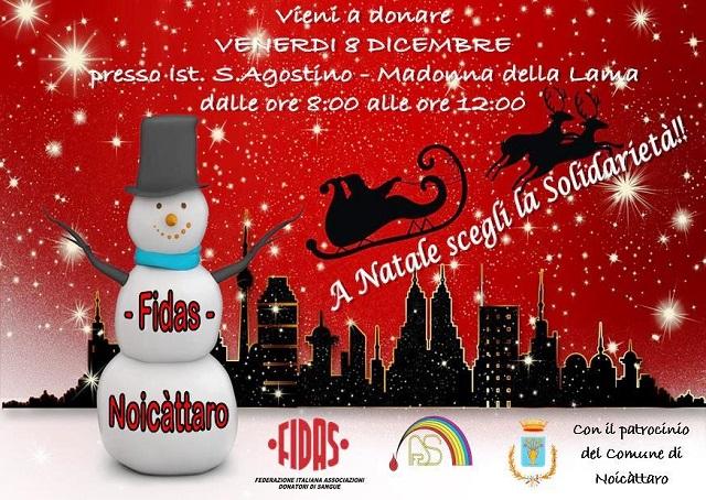 Noicattaro. Donazione Fidas intero