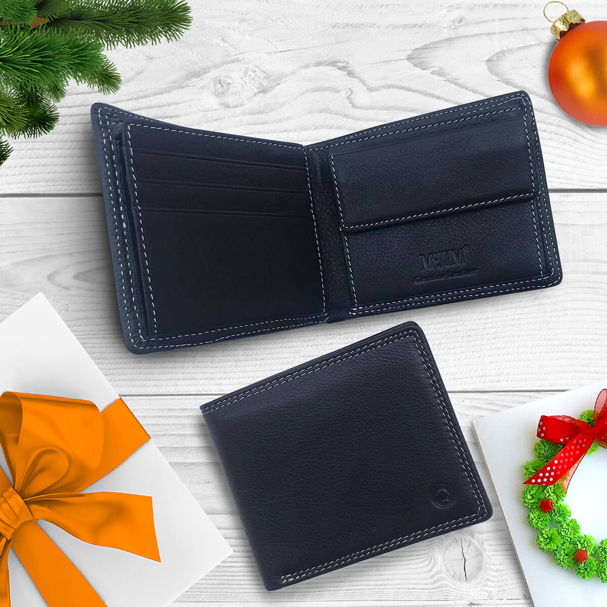 McJim Classic Leather Wallet
