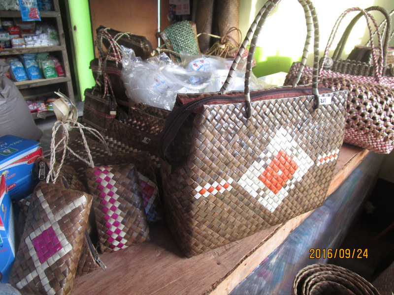 Handcrafted bariw banig products