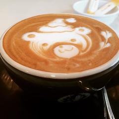 cappuccino cuteness❤︎ ・ ・ ・ #カフェラ #カプチーノ #梅田大丸 #大阪 #caffera #daimaru #umeda #osaka #japan #cappuccino #かわいい #cute