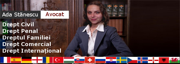 Avocat Ada Stanescu Drept Civil Penal International Familiei Comercial