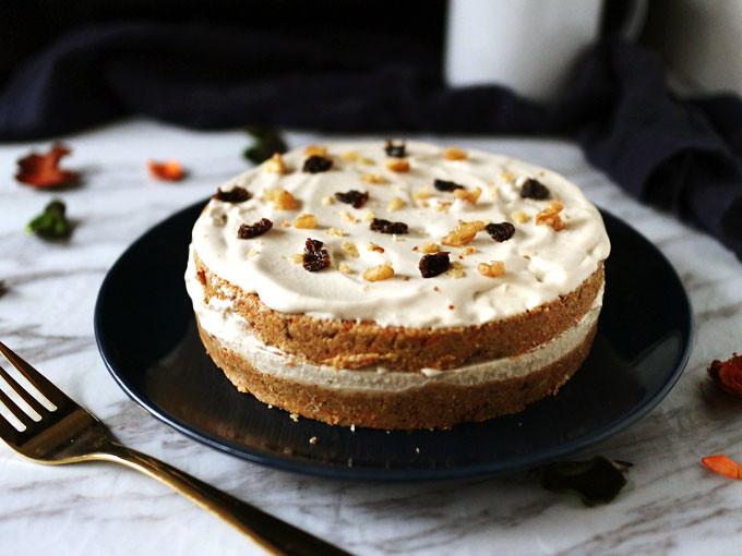 全素免烤紅蘿蔔蛋糕 vegan-no-bake-carrot-cake (2)