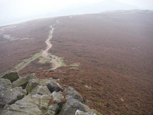Path off Win Hill Pike through Thornhill Brink