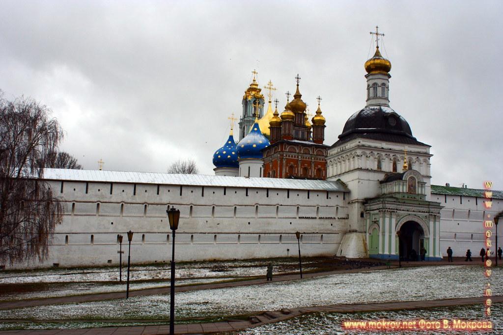 Город Сергиев Посад храм