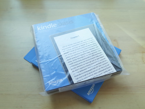 Kindle Oasis 2 Box