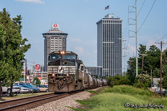 NS 8900 | GE C40-9W | NS Memphis District