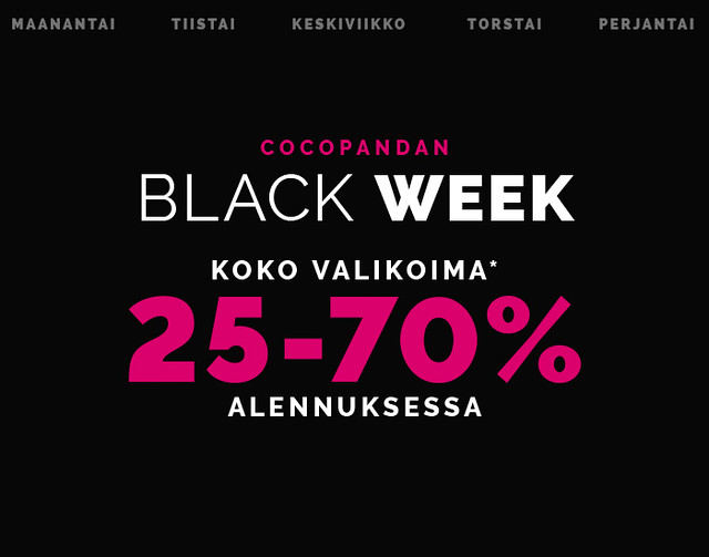 COCOPANDA BLACK WEEK