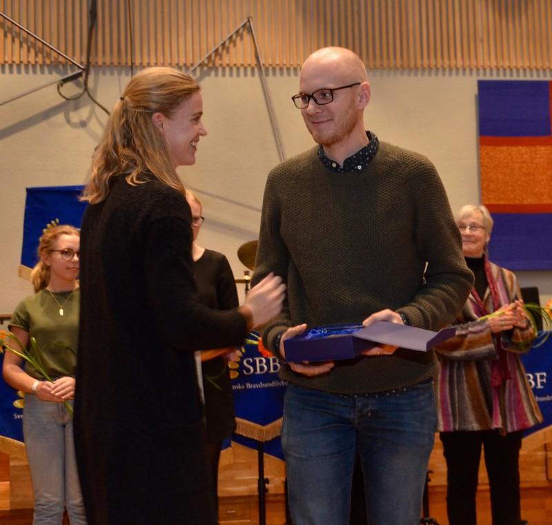 Johan Hultegård vann instrumentalistpriset i division 2