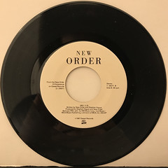 NEW ORDER:TRUE FAITH(RECORD SIDE-B)