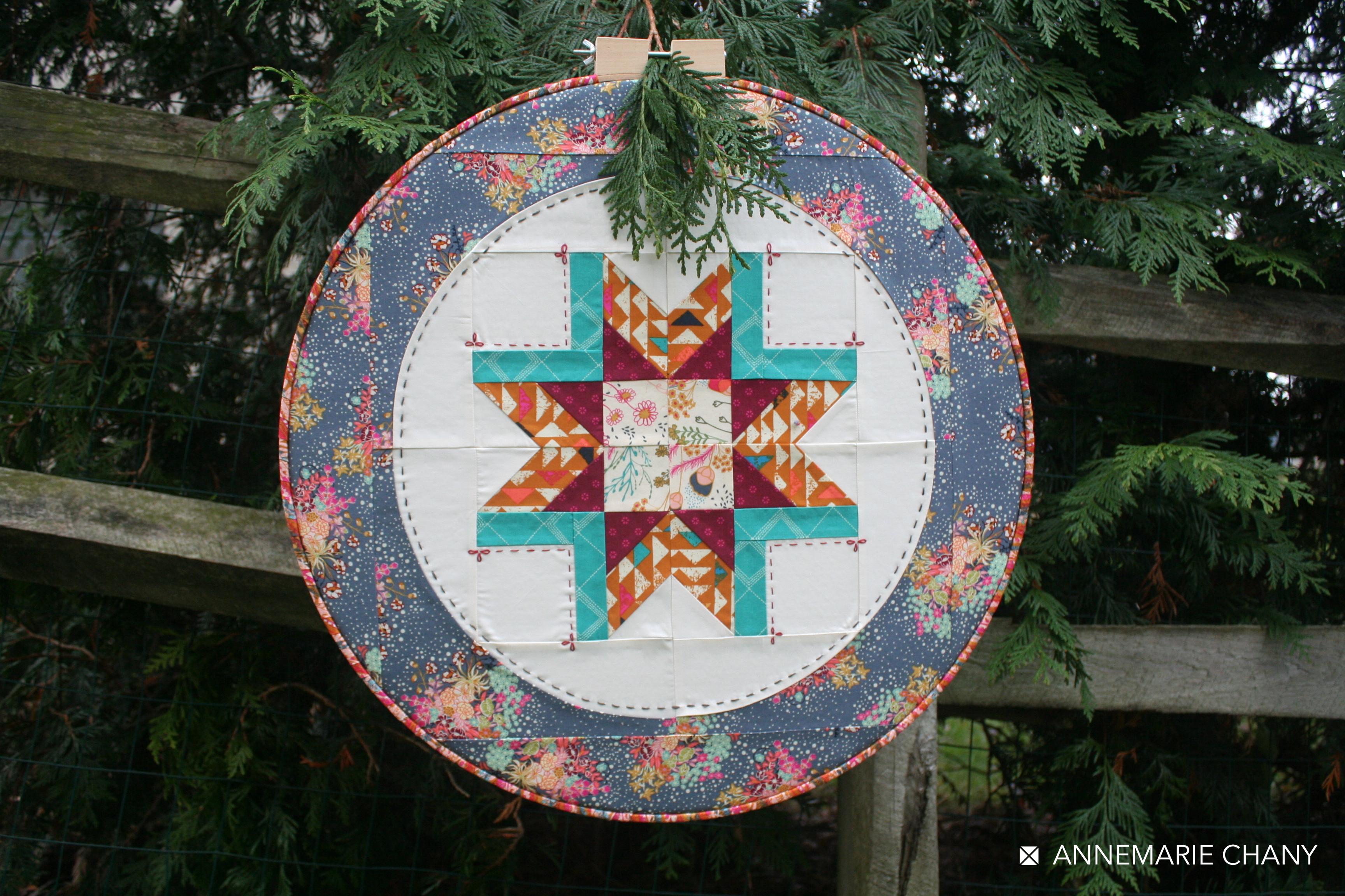 Indie Folk Hoop Quilt