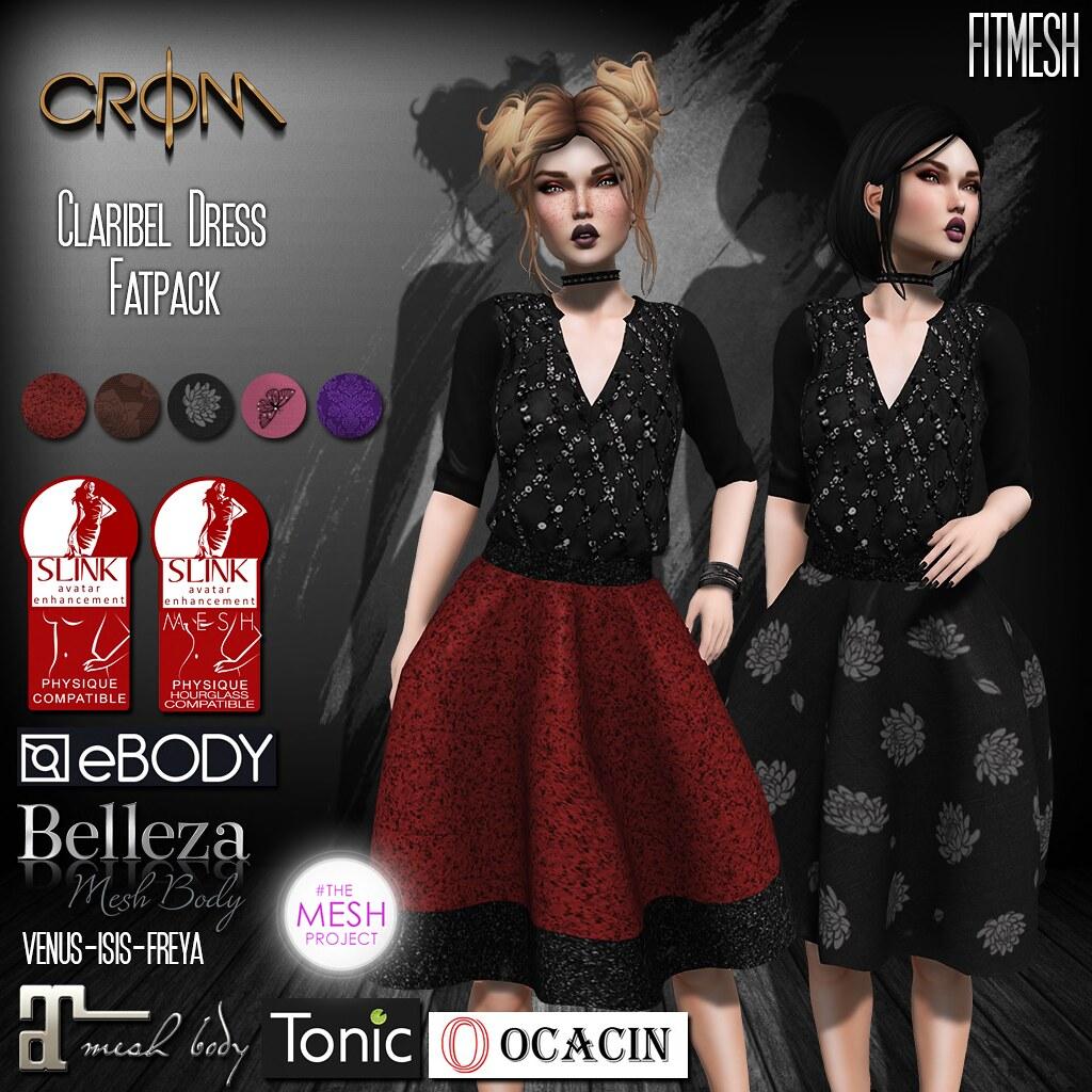 -CroM- Claribel Dresses Fatpack = PROMO 60 L!!! - TeleportHub.com Live!