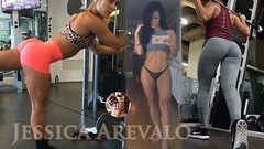Jessica Arevalo | How to Lift Glutes? Workouts & Exercises, FITNESS, Pump BUTT.