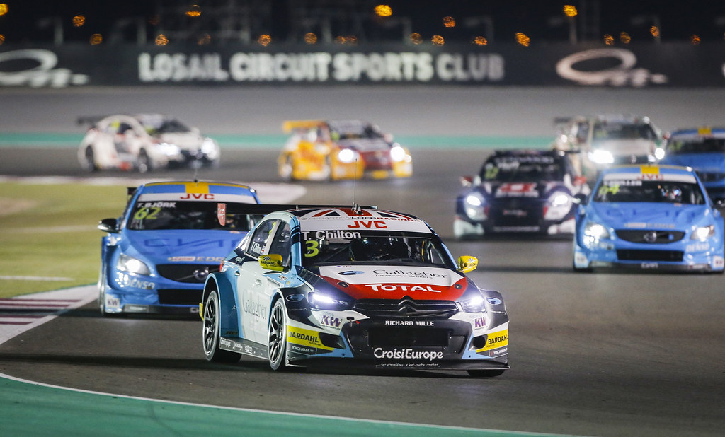 03 CHILTON Tom, (gbr), Citroen C Elysee team Sébastien Loeb Racing, action during the 2017 FIA WTCC World Touring Car Championship race at Losail  from November 29 to december 01, Qatar - Photo Francois Flamand / DPPI