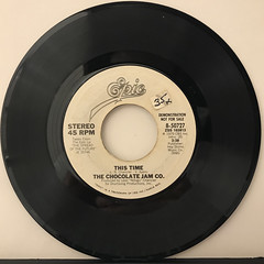 THE CHOCOLATE JAM CO.:THIS TIME(RECORD SIDE-B)