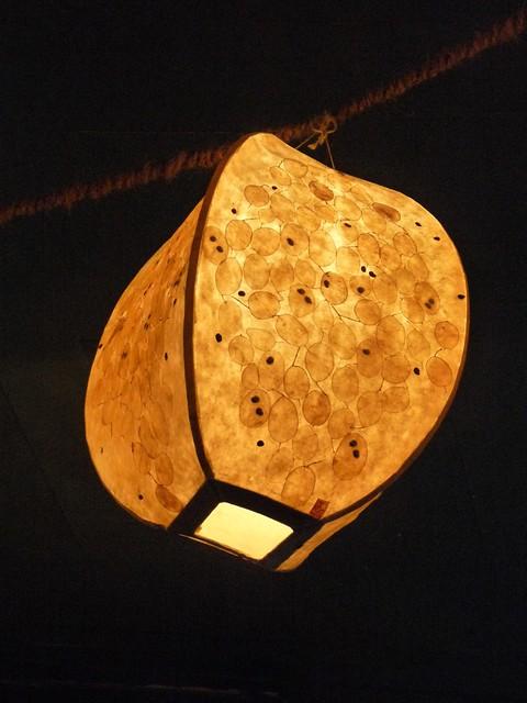 Lampe im Bateau Ivre