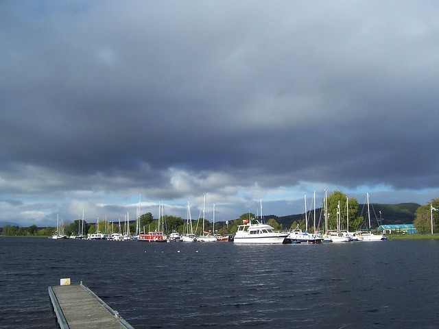 Yachts, Caledonian Canal, Inverness, Oct 2017