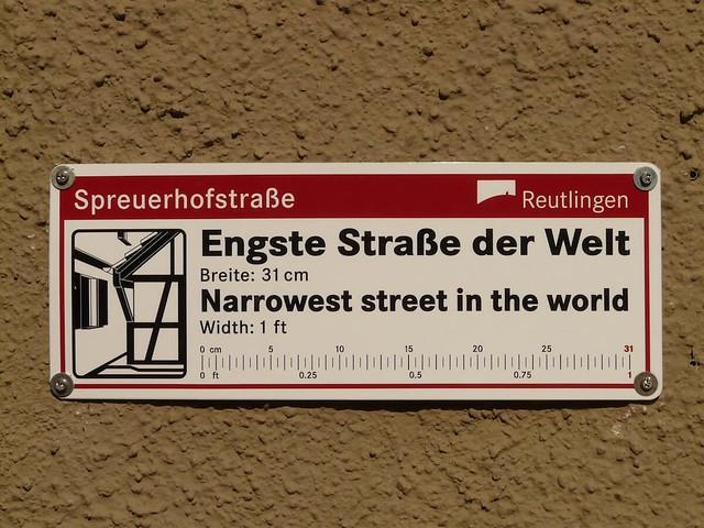 Street in Reutlingen