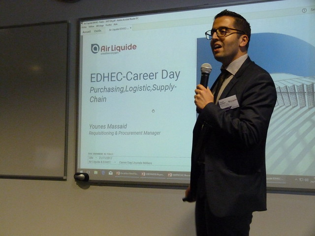 EDHEC Career Day Purchasing, Logistic and Supply-Chain - 21112017