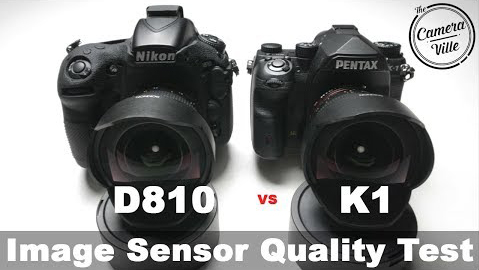 PENTAX K-1 vs Nikon 850 simage sensor quality comparison