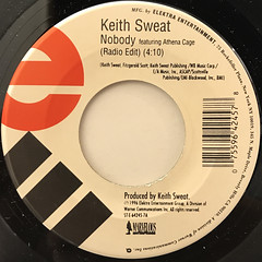KEITH SWEAT:NOBODY(LABEL SIDE-A)