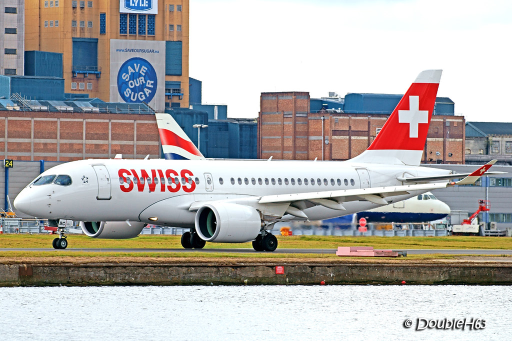 HB-JBC CS100 Swiss LCY