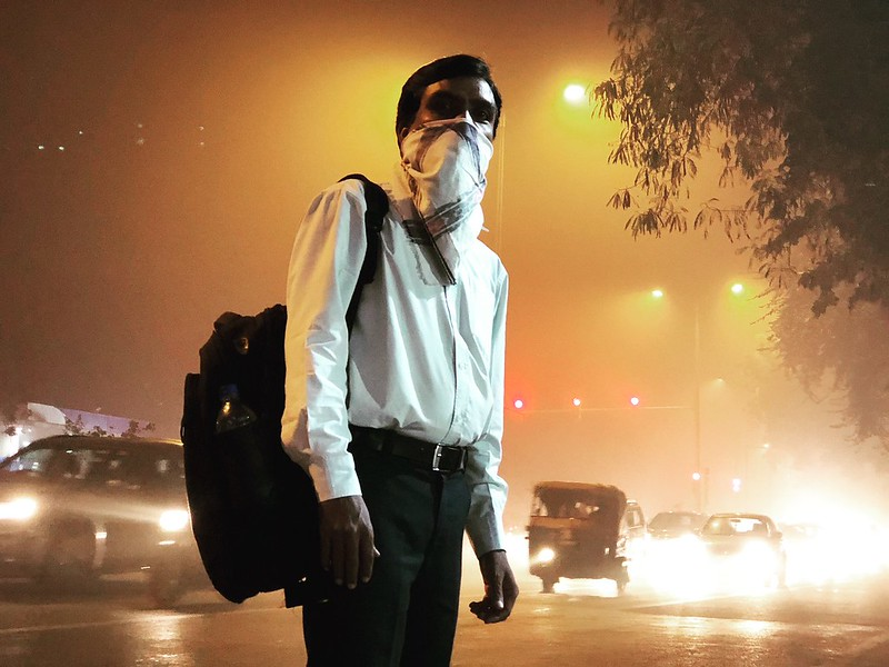 The Definitive Day-End Portrait of a Citizen-Victim in the World's Most Polluted City