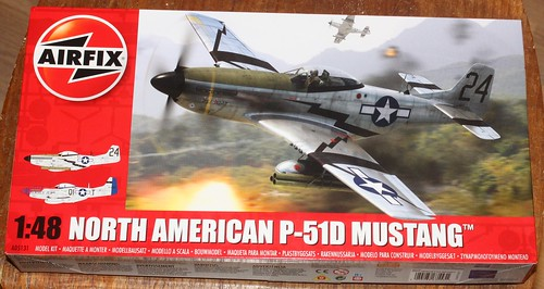 North American P-51D Mustang, Airfix 1/48 38257894052_bf0422eac8