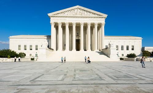 United States Supreme Court Building. Edificio de la Corte Suprema de los Estados Unidos.