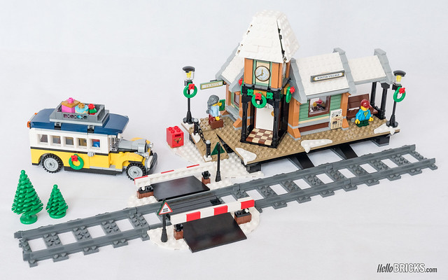 REVIEW LEGO 10259 Winter Village Station