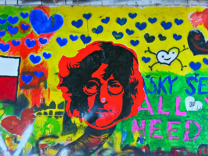 Lennon Wall - Prague