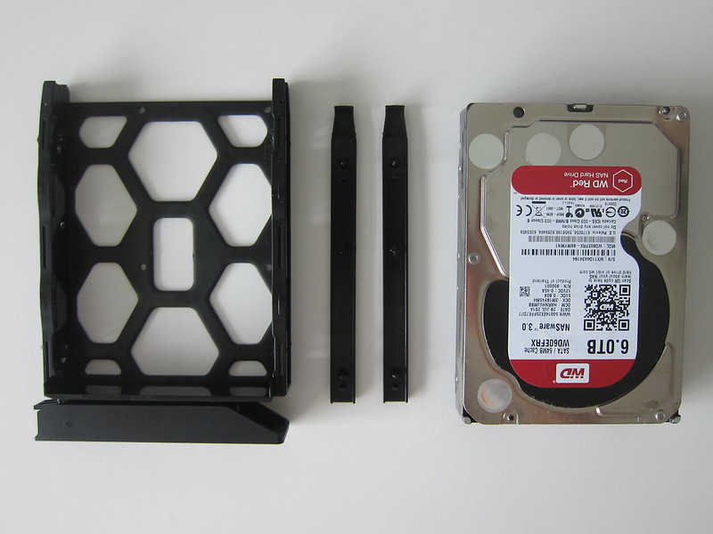 DS418play - Drive Tray