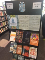 NaNoWriMo display, Ōrauwhata: Bishopdale Library and Community Centre