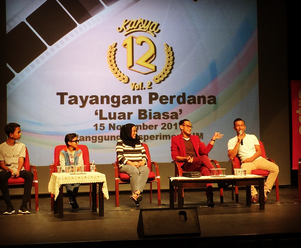 Idan Aedan, Rykarl Iskandar, Tunku Mona Riza, Ridzuan Puzi Dan Saiful Pu...