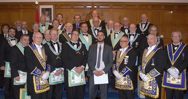 2017 11 16 St. John's Lodge No. 40