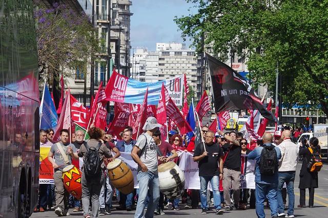 Paro y Movilización  en defensa de la Democracia y contra el Neoliberalismo