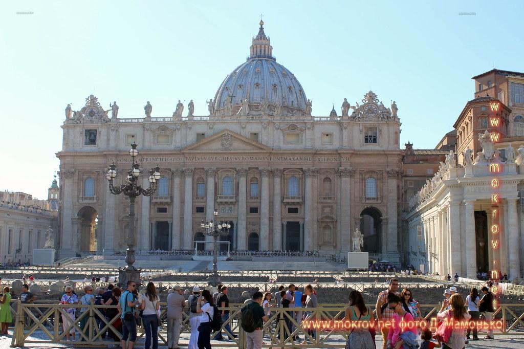 Государство — город Ватикан и фотограф