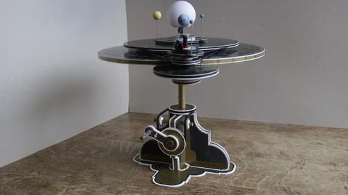 AstroMedia Copernican Orrery kit