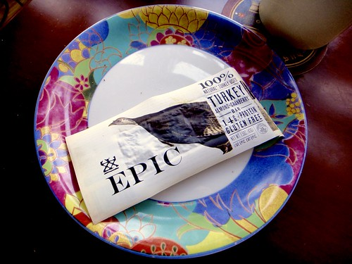 re eating but you can buy Epic Turkey bars  At the Getting-Ready-For-Thanksgiving Café...