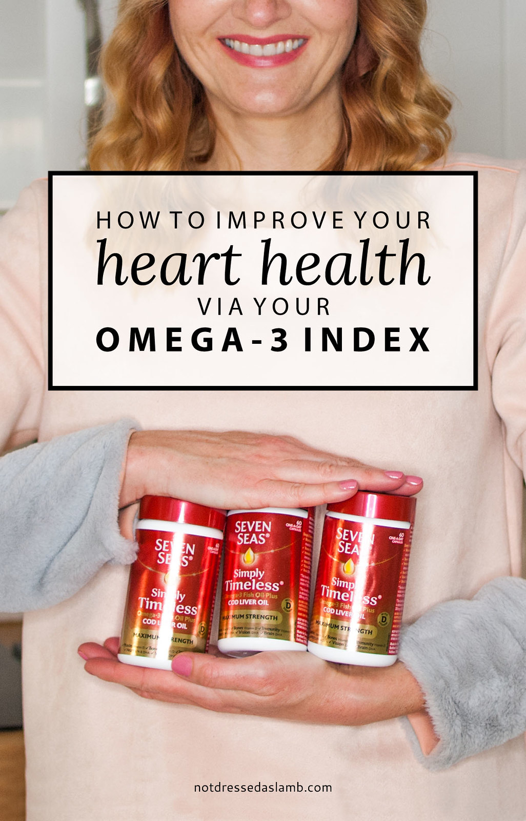 How to Improve Your Heart Health Via Your Omega-3 Index - ways to improve your diet, how to get more omega-3, oily fish | Not Dressed As Lamb