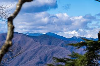 三宝山と甲武信ヶ岳