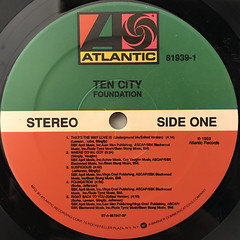 TEN CITY:FOUNDATION(LABEL SIDE-A)