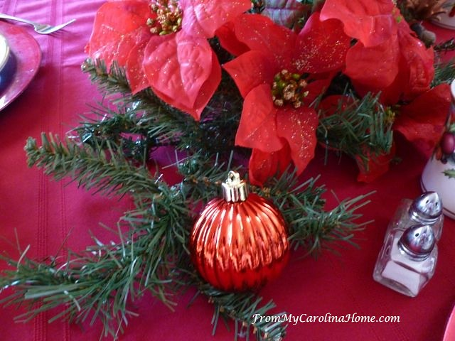 Christmas Luncheon Tablescape ~ From My Carolina Home