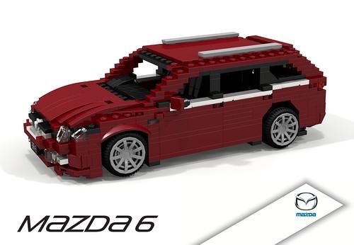 Mazda6 MkII (2008) Wagon