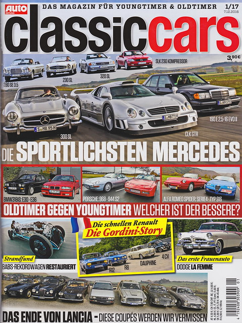 Auto Zeitung - Classic Cars 1/2017