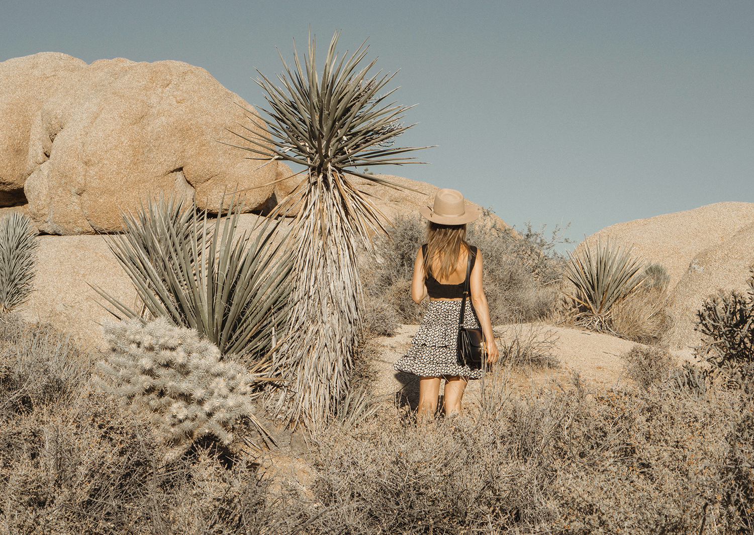 joshuatreepark_highwaistedskirt_lackofcolor_hat_thezulu_celinebox_california_blogger_16