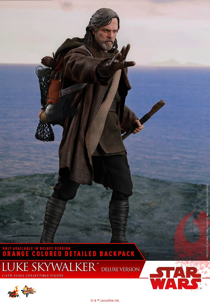 附屬超讚的裝備背包~ Hot Toys - MMS458 -《STAR WARS:最後的絕地武士》路克·天行者 豪華版 Star Wars: The Last Jedi Luke Skywalker(Deluxe Version) 1/6 比例可動人偶作品